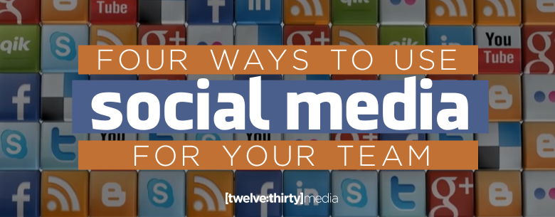 4 WAYS TO USE SOCIAL MEDIA. In Page Image