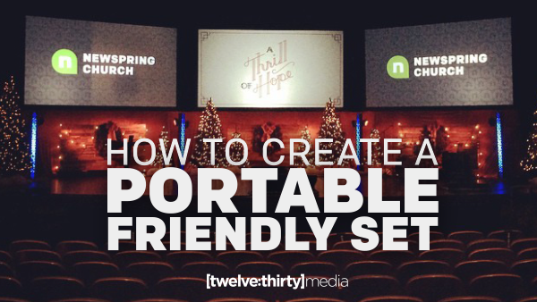 How to Create a Portable-Friendly Set