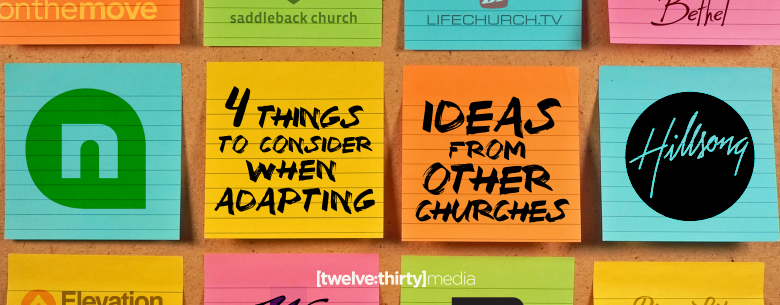 4 THINGS TO CONSIDER WHEN ADAPTING IDEAS. In Page Image