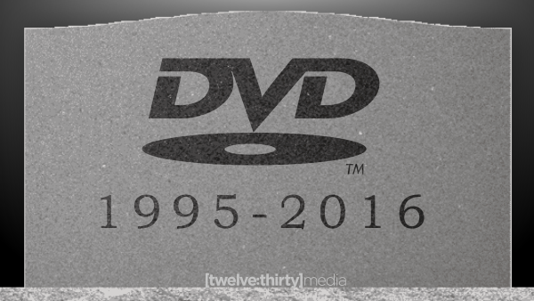 DVDs are Dead.