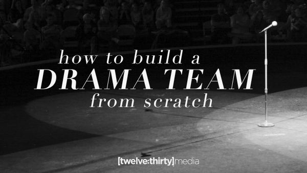 How to Build a Drama Team from Scratch (Part 1: Monologues)