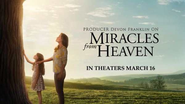 "Producer DeVon Franklin on ""Miracles from Heaven"""