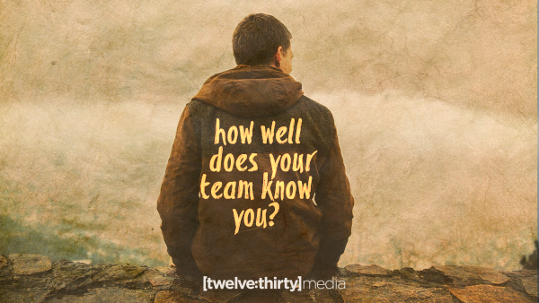 how well does your team know you