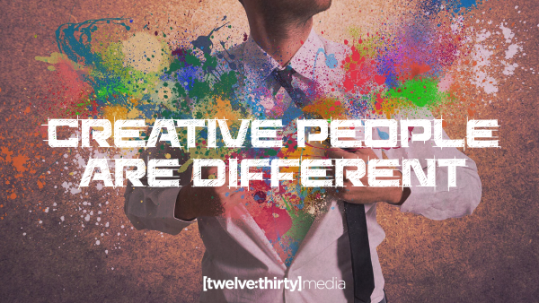 Creative People Are Different