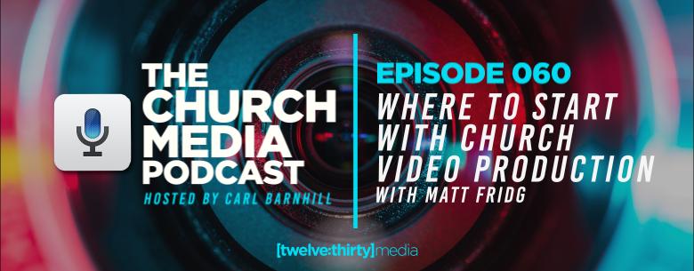 church video production