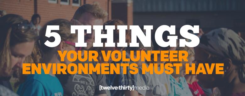 Volunteer Environments