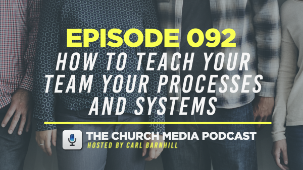 EPISODE 092: How to Teach Your Team Your Process and Systems