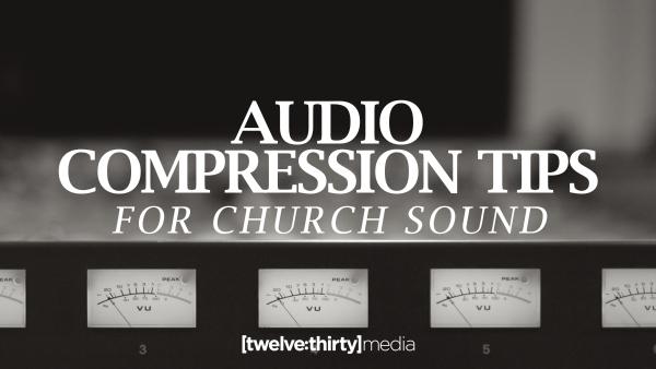 audio compression tips