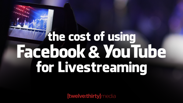 Facebook and Youtube for Livestreaming