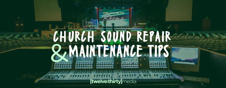 Church Sound Repair