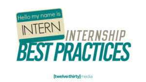 Internship Best Practices