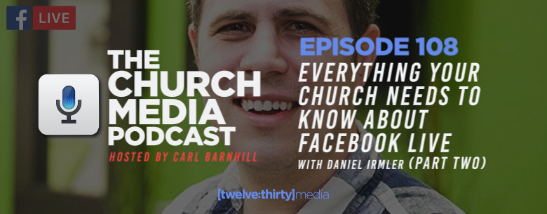 Facebook Live with Daniel Irmler