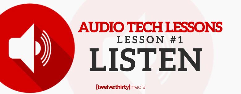 Sound Tech Lessons